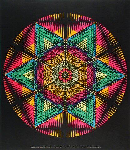 Star Mandala Poster