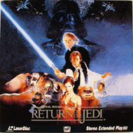 Star Wars: Return Of The Jedi Laserdisc