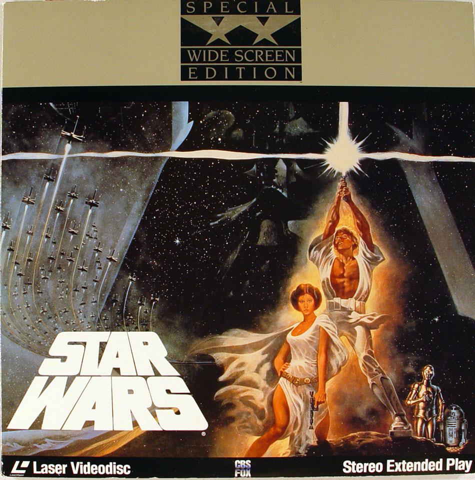Star Wars Laserdisc