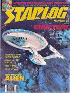 Starlog No. 25 Magazine
