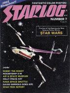 Starlog No. 7 Magazine