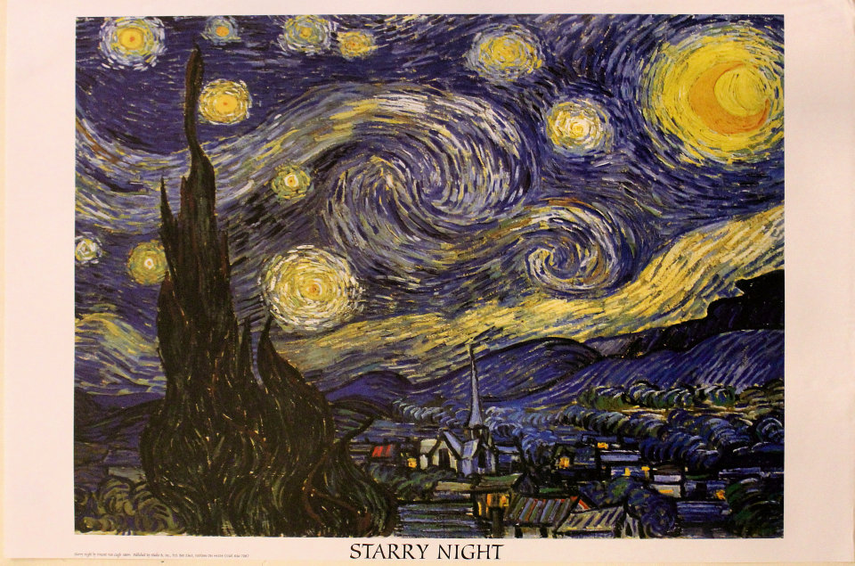 Starry Night Poster
