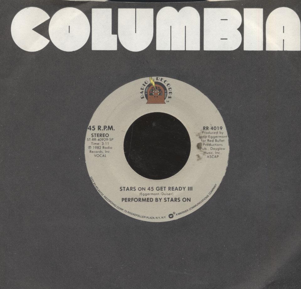 """Stars On 45 Vinyl 7"""" (Used)"""