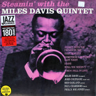 "Steamin' With The Miles Davis Quintet Vinyl 12"" (New)"