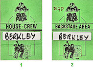 Steel Pulse Backstage Pass