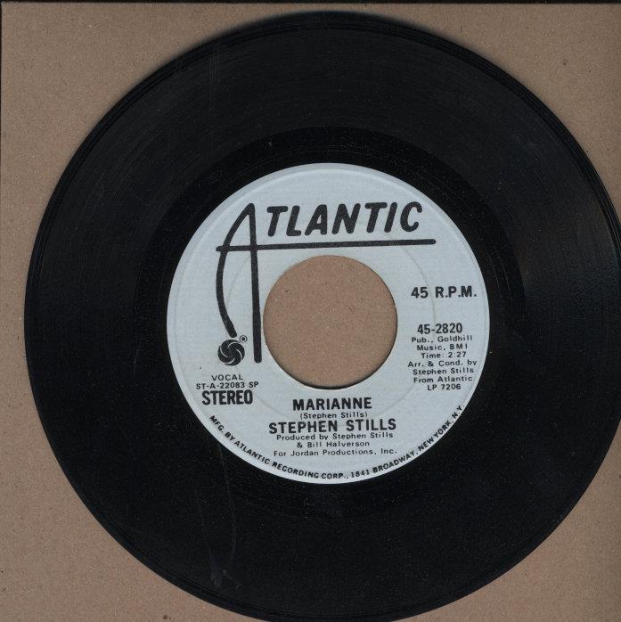 "Stephen Stills Vinyl 7"" (Used)"