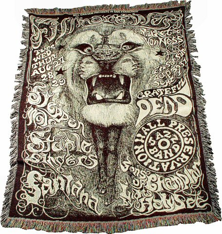 Steppenwolf Blanket/Throw
