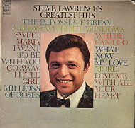 "Steve Lawrence Vinyl 7"" (Used)"