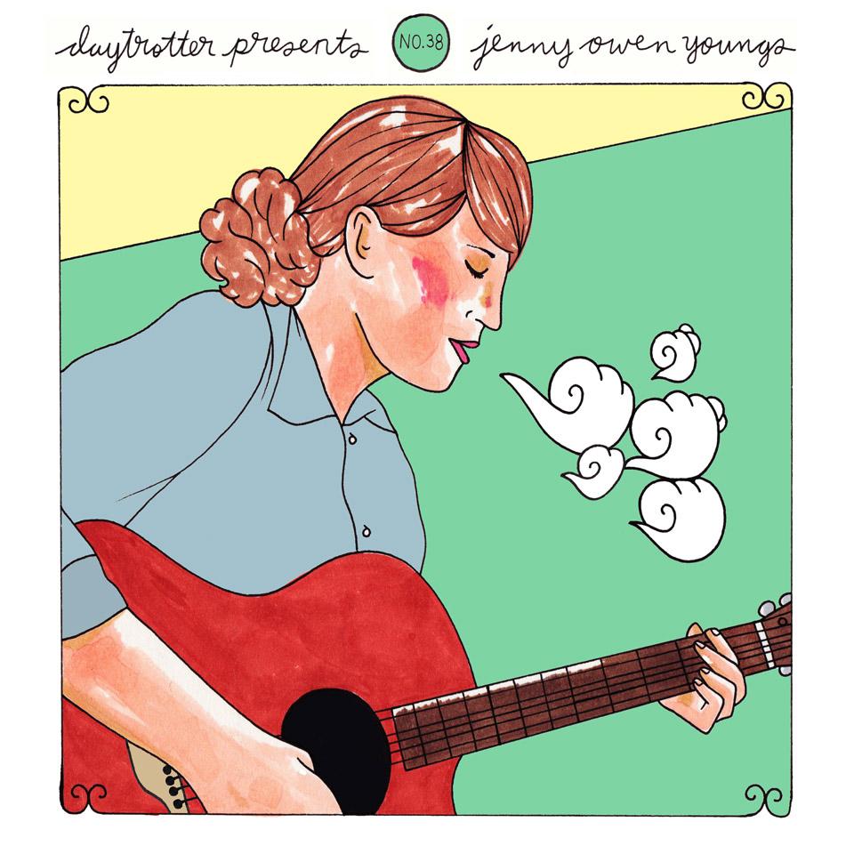 "Steve Poltz / Jenny Owen Youngs Vinyl 12"" (New) reverse side"