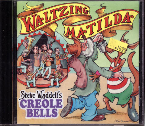 Steve Waddell's Creole Bells CD