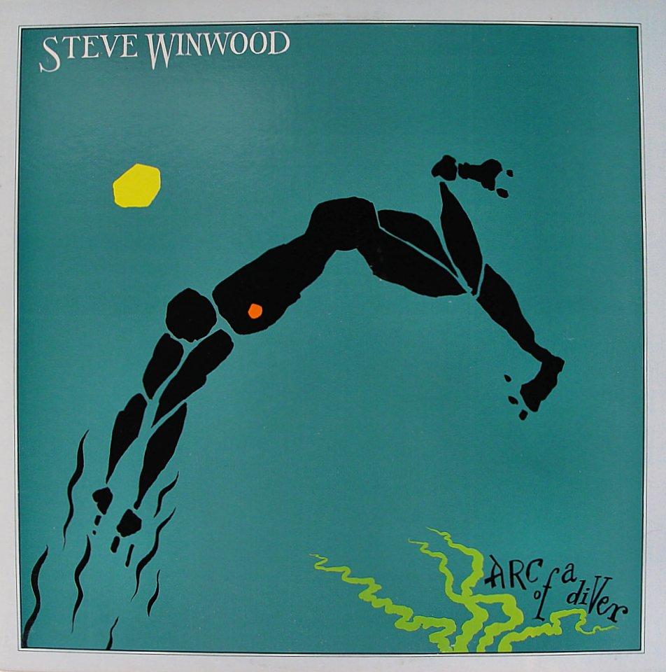 "Steve Winwood, Arc Of A Diver Vinyl 12"" (Used)"