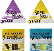 Stevie Nicks Backstage Pass