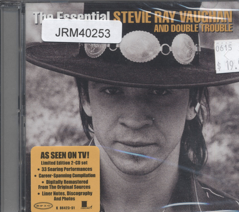 Stevie Ray Vaughan And Double Trouble Cd 2002 At Wolfgang S