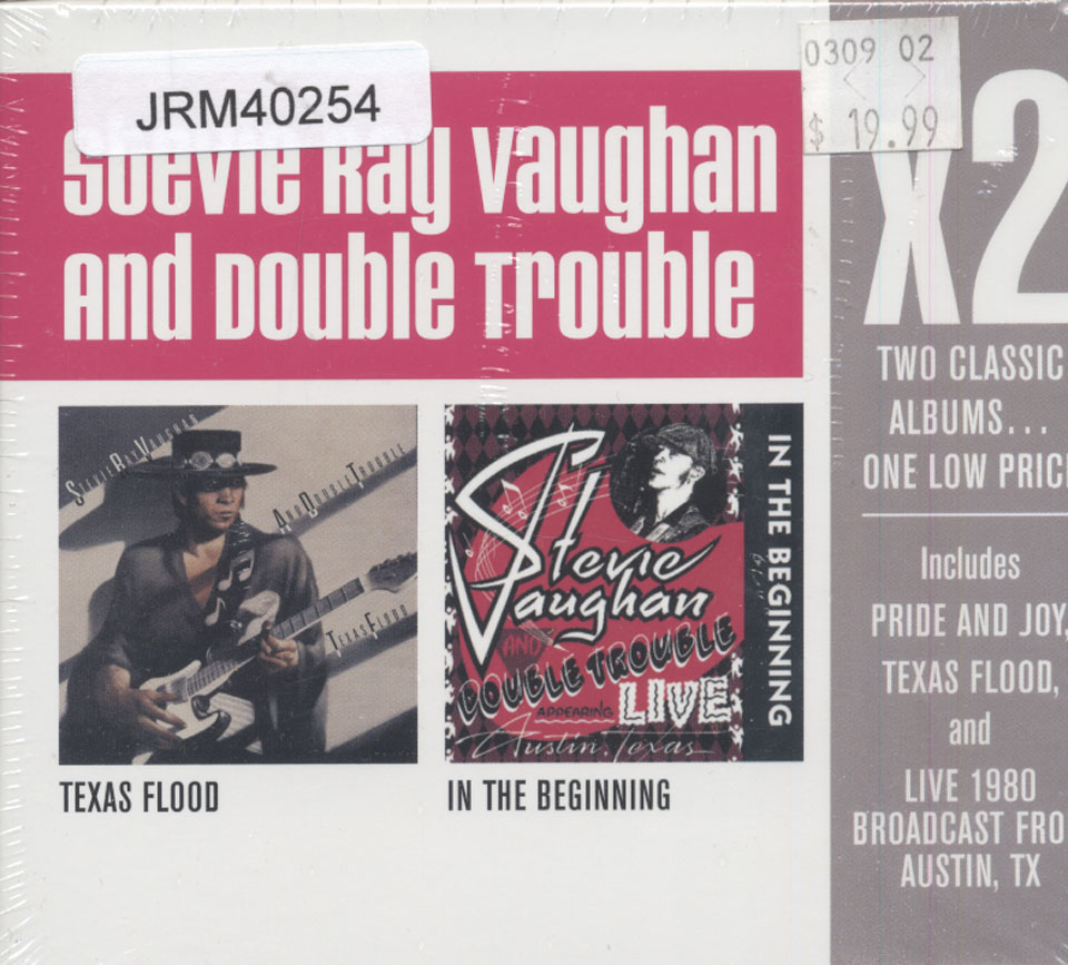 Stevie Ray Vaughan and Double Trouble CD