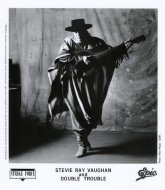 Stevie Ray Vaughan & Double Trouble Promo Print