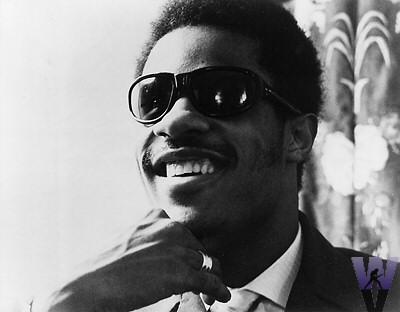 Stevie Wonder Vintage Print