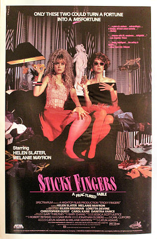 Sticky Fingers Poster