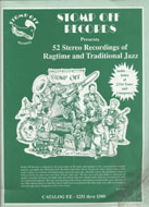 Stomp Off Records Presents 52 Stereo Recordings Of Ragtime And Traditional Jazz Magazine