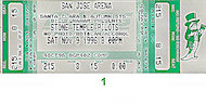 Stone Temple Pilots Vintage Ticket