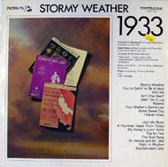 """Stormy Weather 1933 Vinyl 12"""" (Used)"""