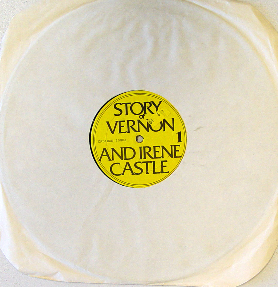 """Story Of Vernon And Irene Castle / Daddy Long Legs Vinyl 12"""" (Used)"""