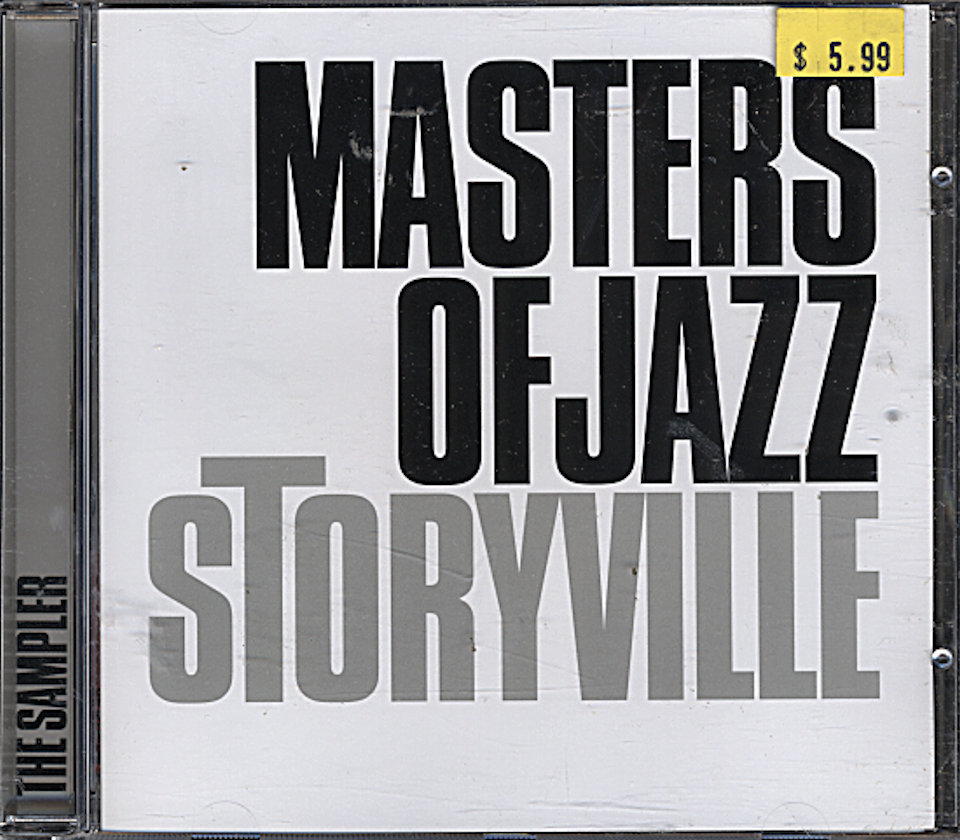 Storyville: Masters of Jazz CD