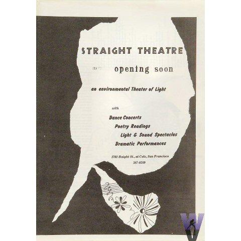 Straight Theatre Program