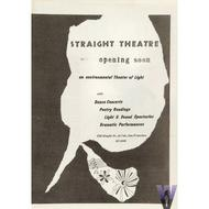 Straight Theatre Program