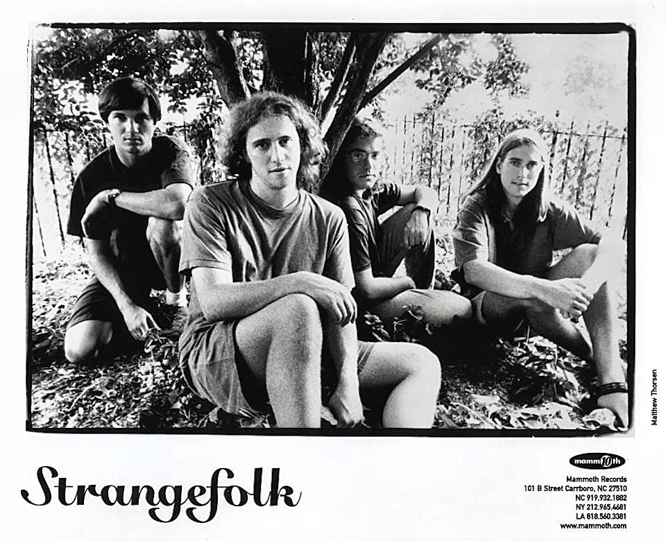 Strangefolk Promo Print