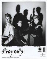 Stray Cats Promo Print