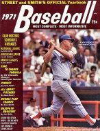 Street and Smith's Baseball Yearbook 1971 Magazine