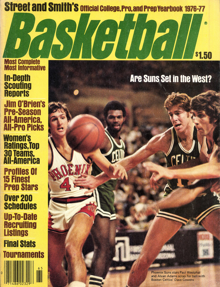 Street Smith S Basketball Yearbook Magazine 1976 At Wolfgang S