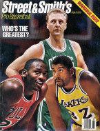 Street & Smith's Pro Basketball Inaugural Issue Magazine