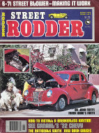 Street Rodder Vol. 5 No. 8 Magazine