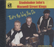 Studebaker John's Maxwell Street Kings CD