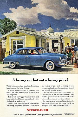 Studebaker Land Cruiser Vintage Ad