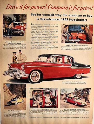 Studebaker-Packard: Victory 6 Vintage Ad