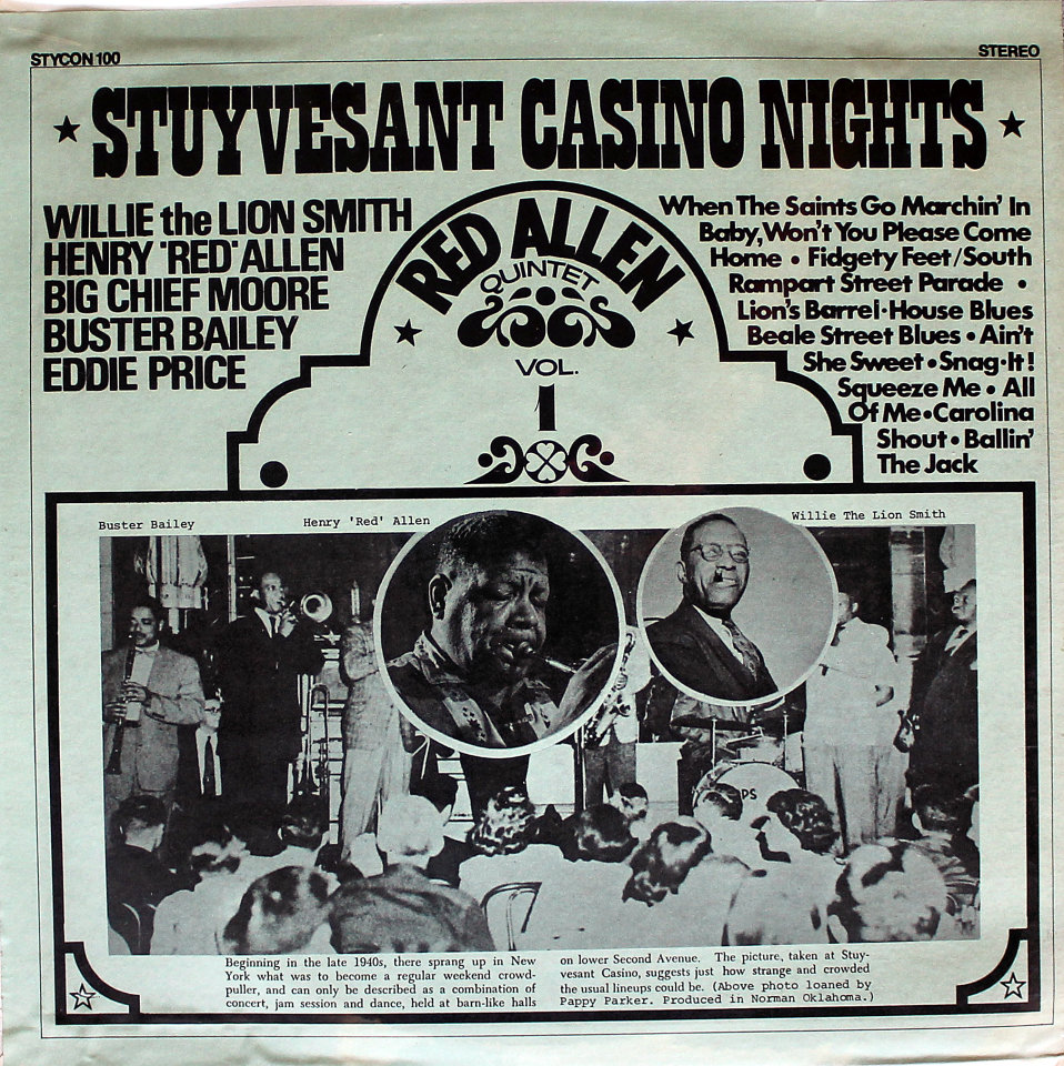 "Stuyvesant Casino Nights Vinyl 12"" (New)"