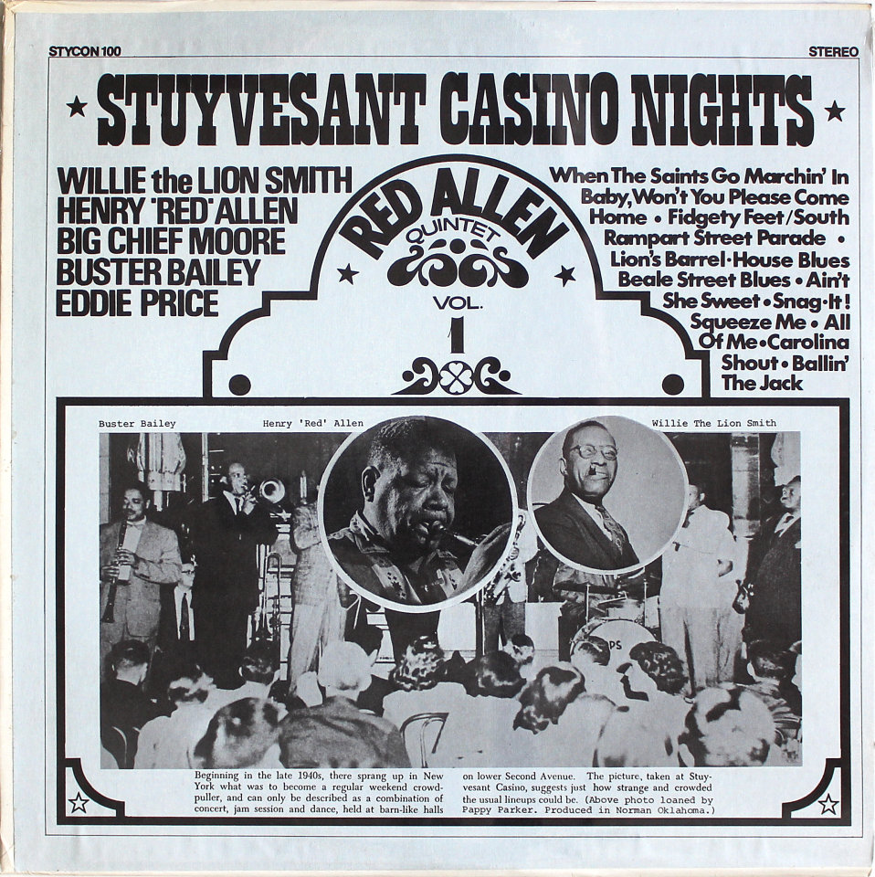 "Stuyvesant Casino Nights Vinyl 12"" (New)"