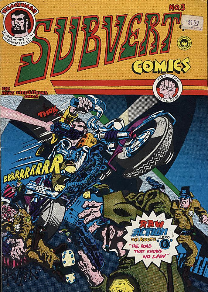 Subvert Comics #3 Comic Book