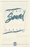 Summer Sound Series Program