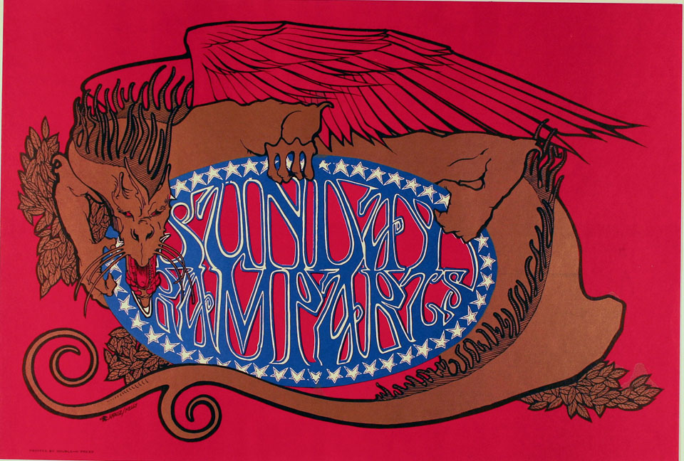 Sunday Ramparts Poster