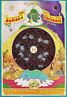 Sunset Health Food Store Poster