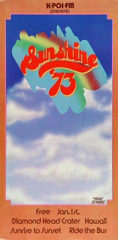 Sunshine Festival Postcard