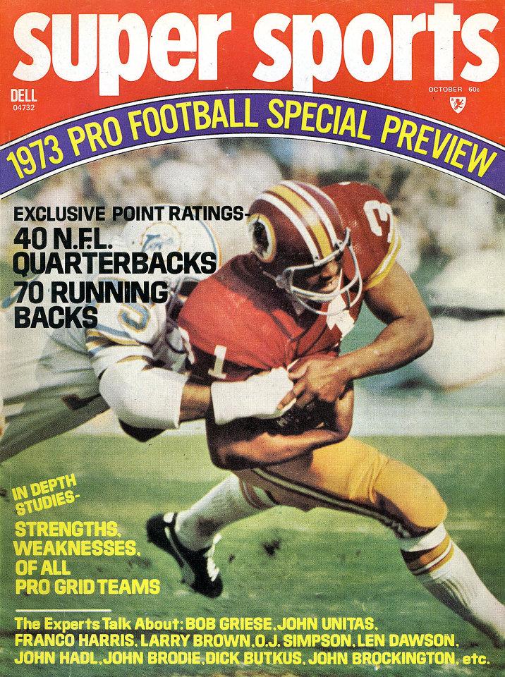 Super Sports: Pro Football Special Review Vol. 6 No. 4