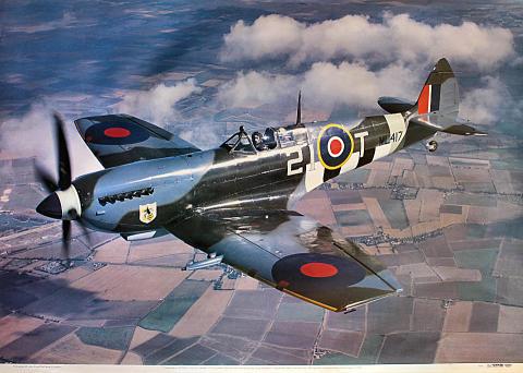 Supermarine Spitfire LFIXE Poster