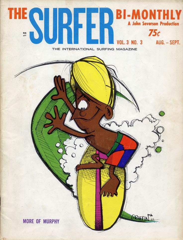 Surfer Magazine August 1962