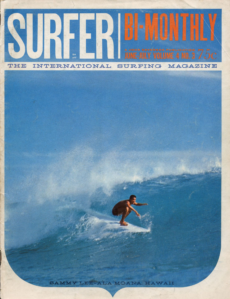 Surfer Magazine June 1963