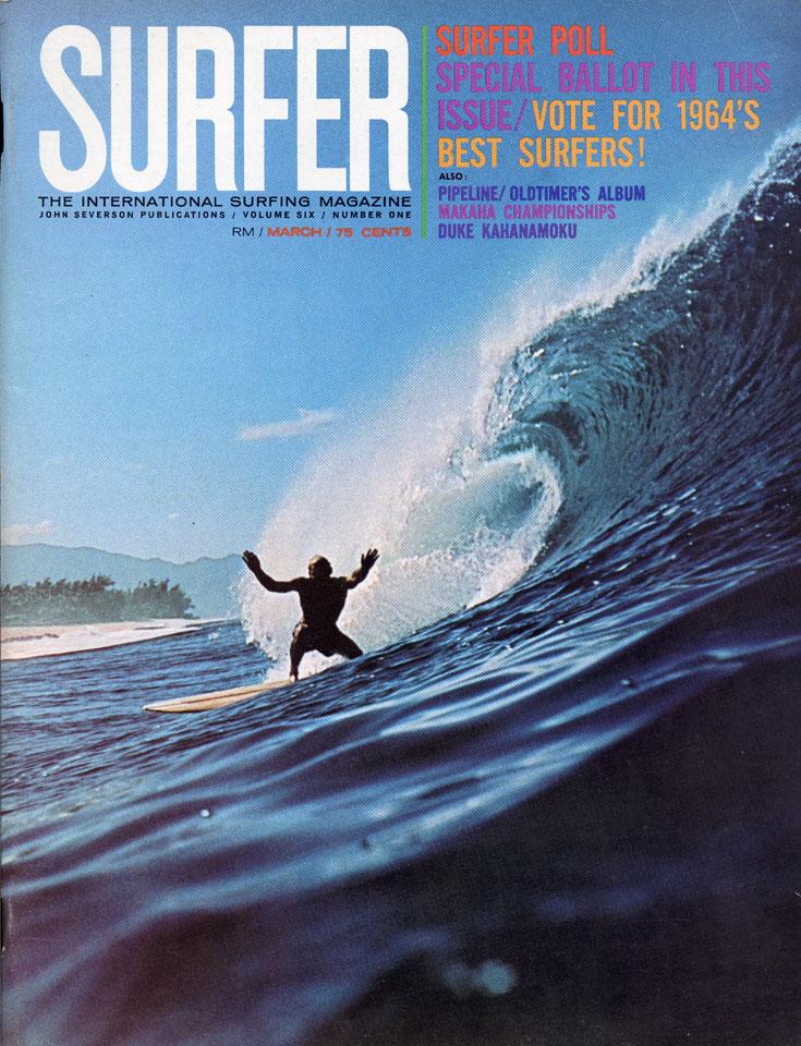 Surfer Magazine March 1965