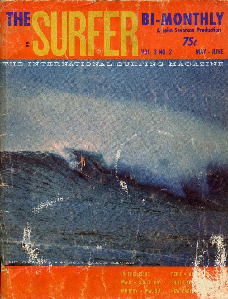 Surfer Magazine May 1962